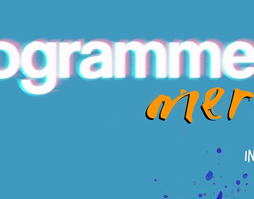 affisch om att programmera mera