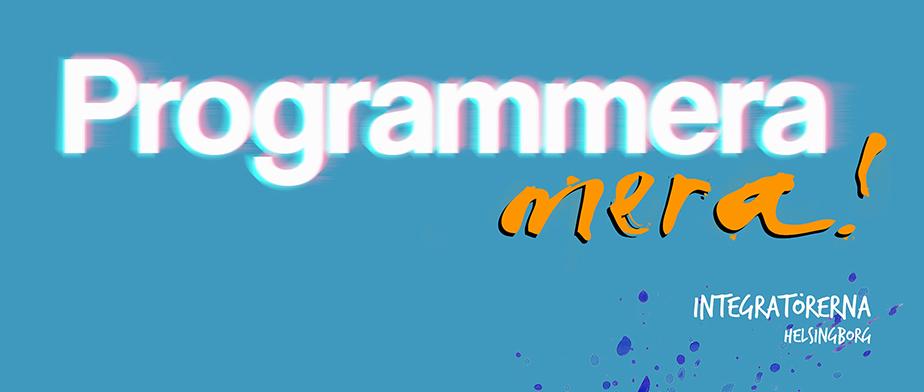 Välkommen till Programmera mera!
