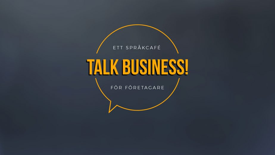 Logga för Talk business, ett språkcafé för företagare