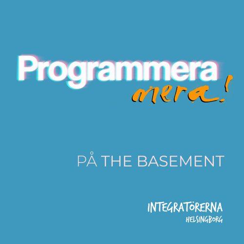 Affisch om att lära sig programmera